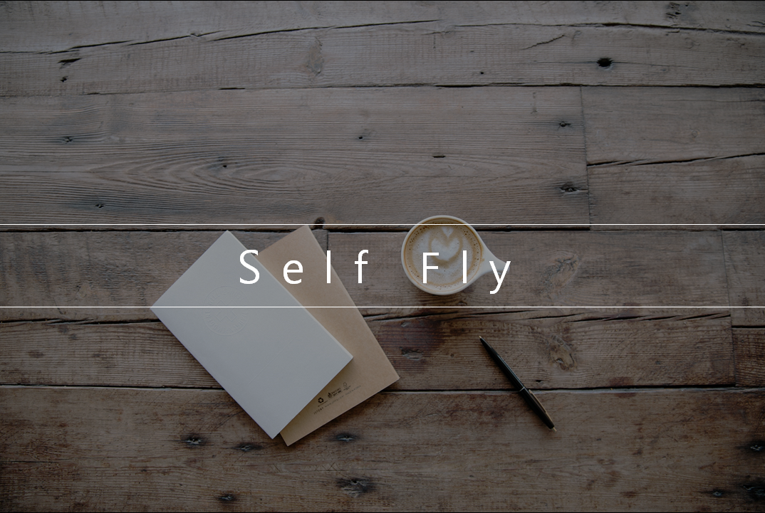 SF (Self & Fly) 로고이미지